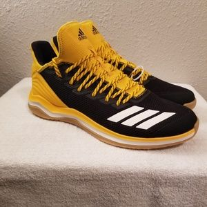 Adidas Men's Shoes Size 13 Basketball Mesh Yellow